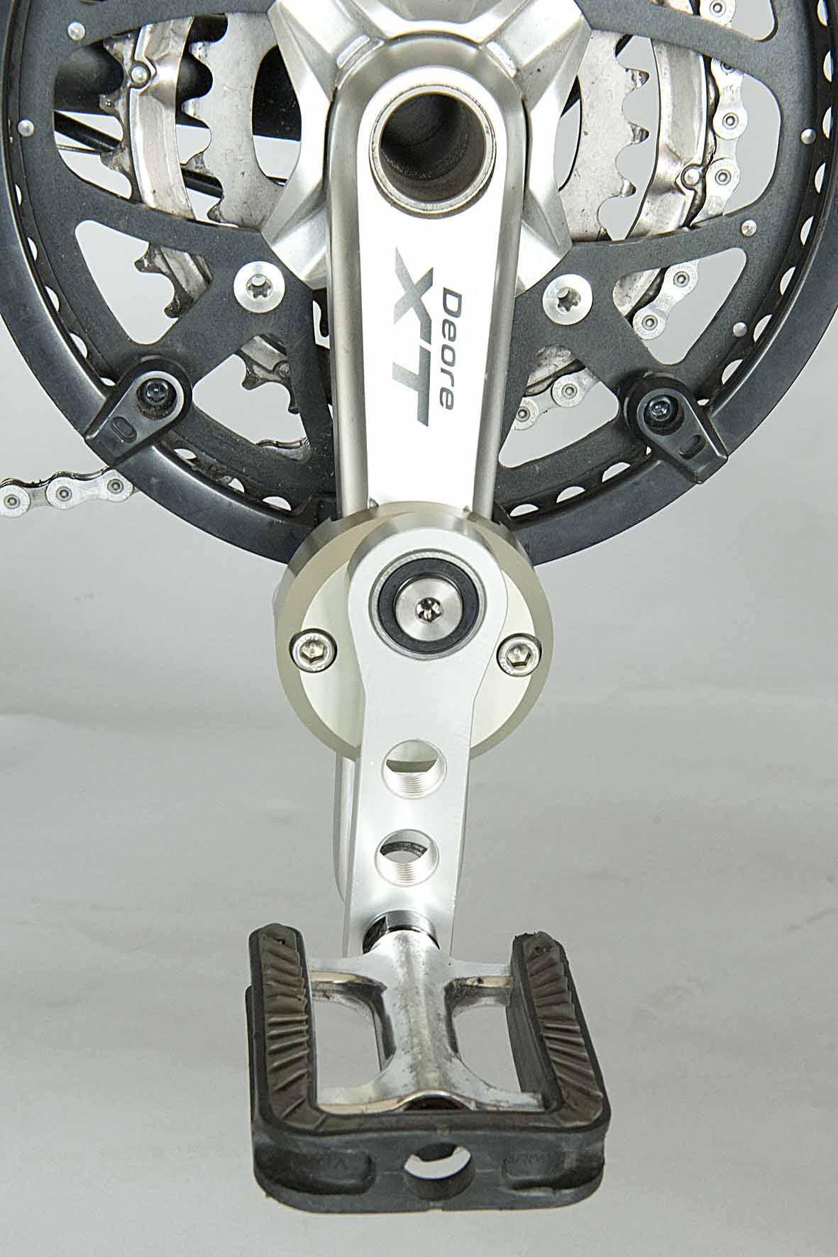 eccentric pedal device